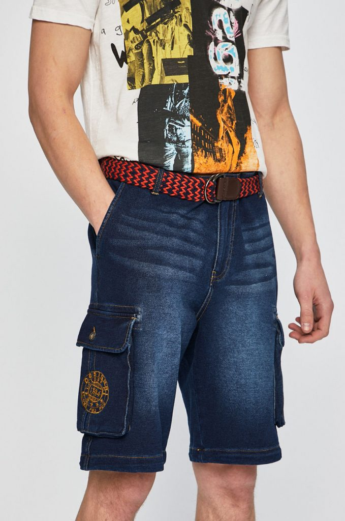 Desigual - Pantaloni scurti