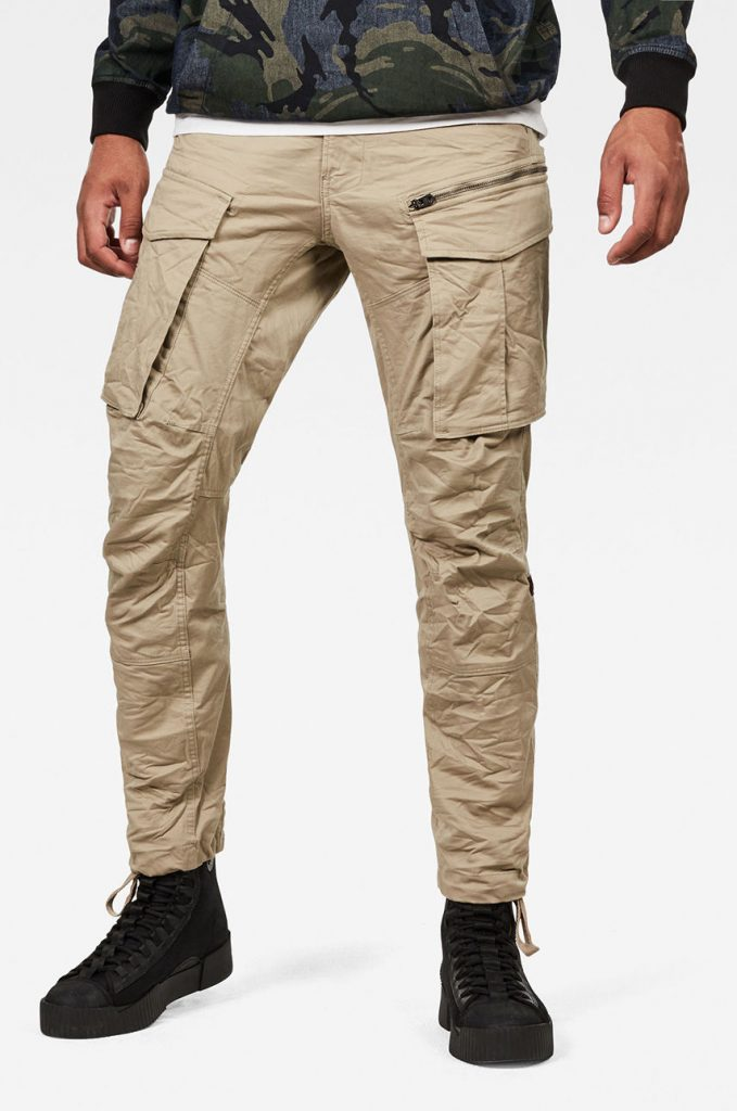 G-Star Raw - Pantaloni Rovic Zip 3D