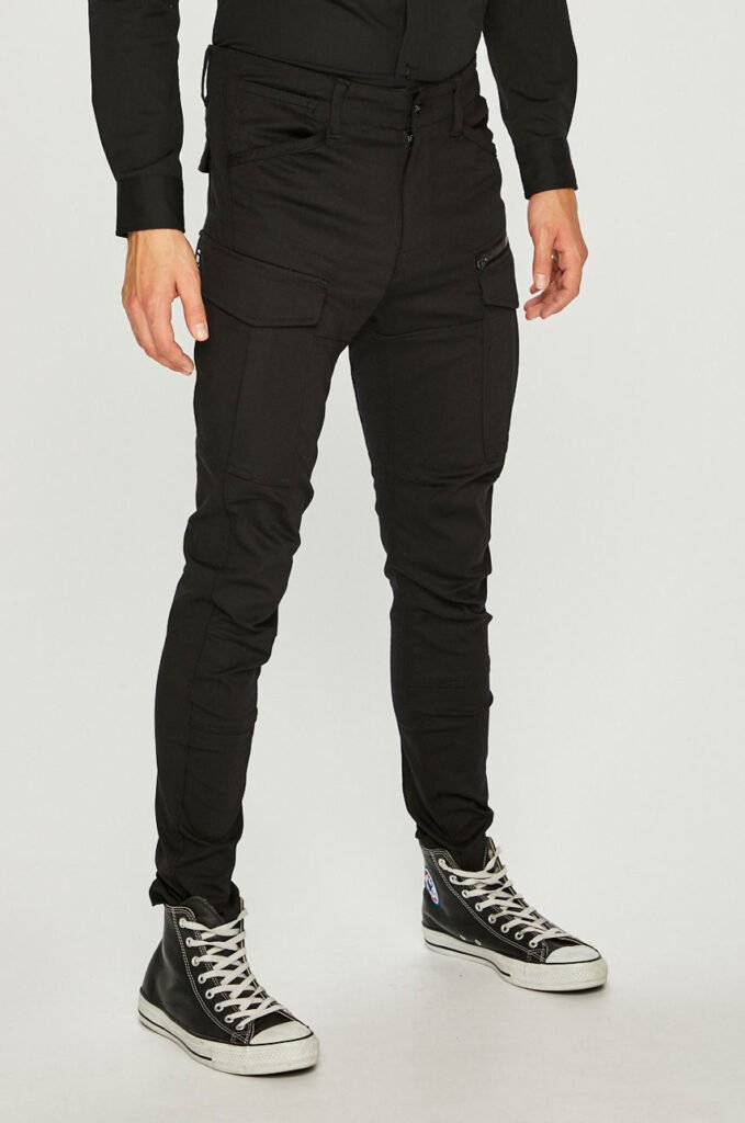 G-Star Raw - Pantaloni Rovic Zip 3d Skinny
