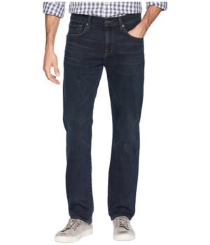 Imbracaminte Barbati 7 For All Mankind The Straight Tapered Straight Leg in Contra Contra