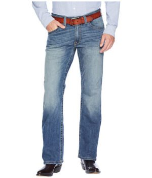 Imbracaminte Barbati Ariat M5 Slim Low Rise Bootcut Tekstretch Jeans in Blue Point Blue Point