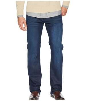 Imbracaminte Barbati Buffalo David Bitton Driven X Relaxed Jeans in Coated and Worn Out Coated and Worn Out