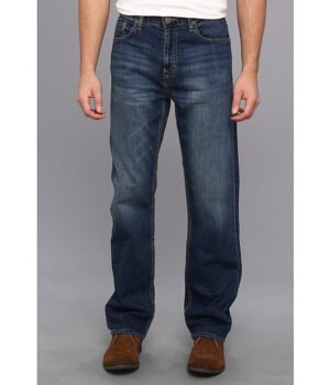Imbracaminte Barbati Calvin Klein Relaxed Straight Jean in Cove Wash Cove