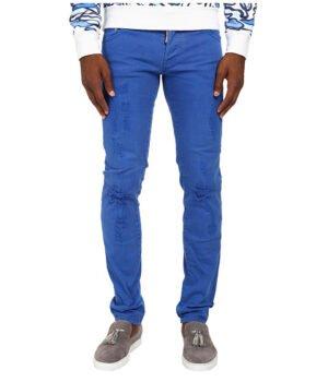 Imbracaminte Barbati DSQUARED2 Garment Dyed Slim Jean Blue