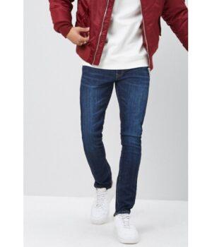 Imbracaminte Barbati Forever21 Ankle-Zip Skinny Jeans DARK DENIM