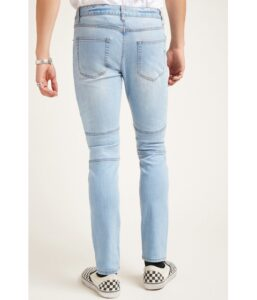 Imbracaminte-Barbati-Forever21-Paneled-Skinny-Jeans-DENIM-WASHED
