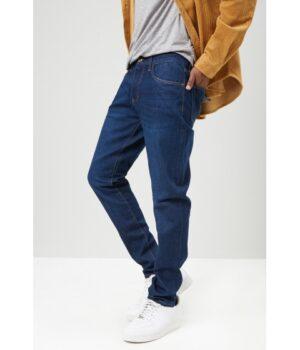 Imbracaminte Barbati Forever21 Zip-Fly Skinny Jeans DARK DENIM