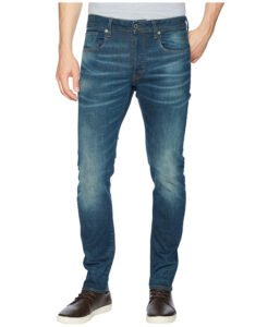 Imbracaminte Barbati G-Star 3301 Slim Jeans in Medium Aged Beln Stretch Denim Medium Aged Beln Stretch Denim
