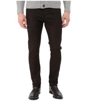 Imbracaminte Barbati G-Star 3301 Slim in Black Edington Stretch Denim Raw Black Edington Stretch Denim Raw
