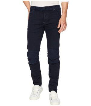 Imbracaminte Barbati G-Star 5620 3D Slim Colored Jeans in Sartho Blue Sartho Blue