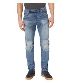 Imbracaminte Barbati G-Star 5620 3D Straight Tapered Jeans in Dark Aged Antic Restored Dark Aged Antic Restored