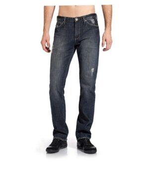 Imbracaminte Barbati GUESS Delmar Straight Leg Jeans - 30quot Inseam dark wash