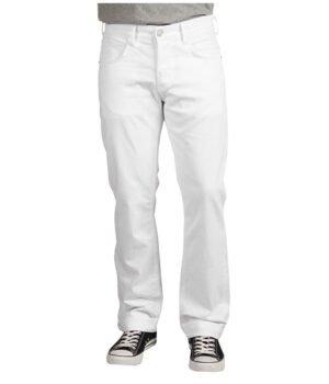 Imbracaminte Barbati Hudson Byron 5-Pocket Straight Leg in White White