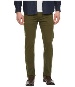 Imbracaminte Barbati Levi's 513trade Slim Straight Fit Rainforest Green - Bull Denim