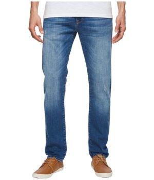 Imbracaminte Barbati Mavi Jeans Jake Regular Rise Slim Leg in Light Destructed Authentic Vintage Light Destructed Authentic Vintage
