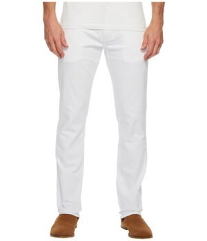 Imbracaminte Barbati Mavi Jeans Marcus Regular Rise Slim Straight Leg in White Williamsburg White Williamsburg