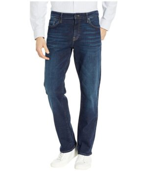 Imbracaminte Barbati Mavi Jeans Matt Mid-Rise Relaxed Straight Leg in Ink Cashmere Ink Cashmere