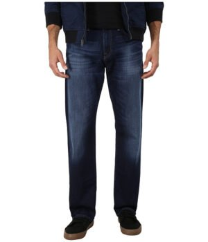 Imbracaminte Barbati Mavi Jeans Myles Midrise Straight Leg in Dark Williamsburg Dark Williamsburg