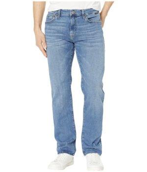 Imbracaminte Barbati Mavi Jeans Zach Mid-Rise Straight Leg in Mid Indigo Cashmere Mid Indigo Cashmere