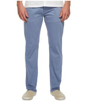 Imbracaminte Barbati Mavi Jeans Zach Regular Rise Straight Leg in Stone Washed Twill Stone Washed Twill