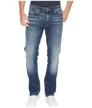 Imbracaminte Barbati Mavi Jeans Zach Straight Leg in Brushed Authentic Vintage Brushed Authentic Vintage