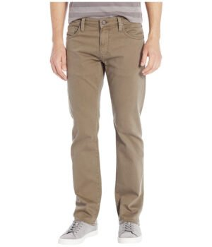 Imbracaminte Barbati Mavi Jeans Zach Straight in Khaki Washed Comfort Khaki Washed Comfort