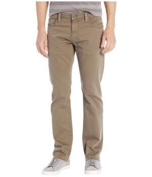Imbracaminte Barbati Mavi Jeans Zach Straight in Khaki Washed Comfort Khaki Washed Comfort