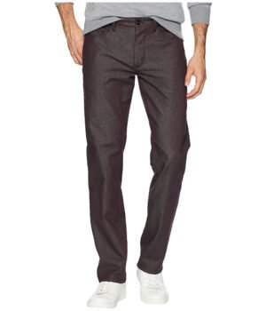 Imbracaminte Barbati Perry Ellis Slim Fit Slubbed Stretch Denim Pants Port