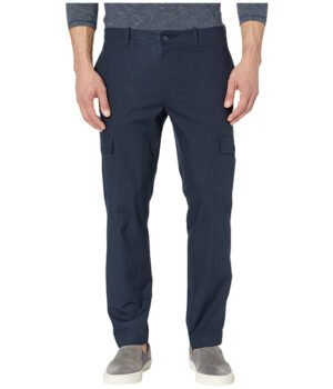 Imbracaminte Barbati Perry Ellis Slim Fit Stretch Cargo Pants Dark Sapphire