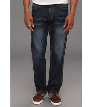 Imbracaminte Barbati US Polo Assn Slim Straight Carpenter Jean Blue