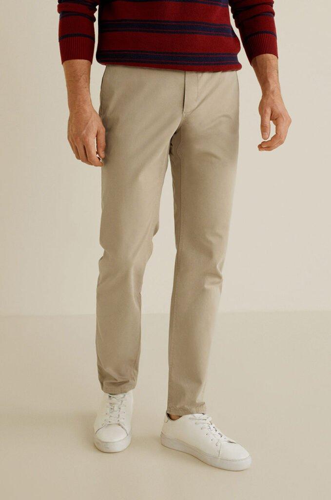 Mango Man - Pantaloni Barna4