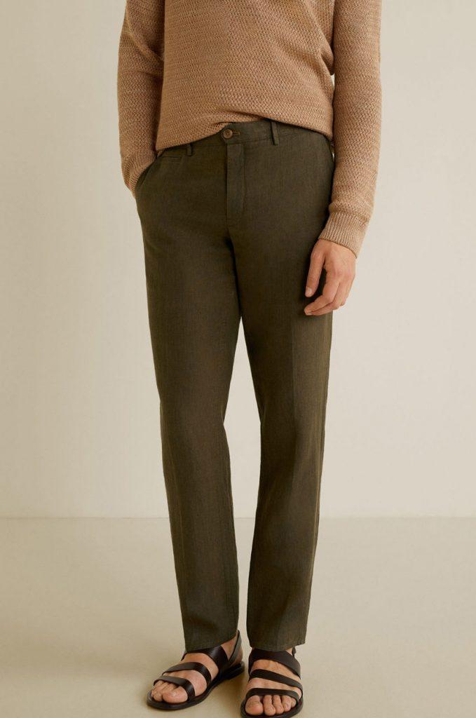Mango Man - Pantaloni Oyster4