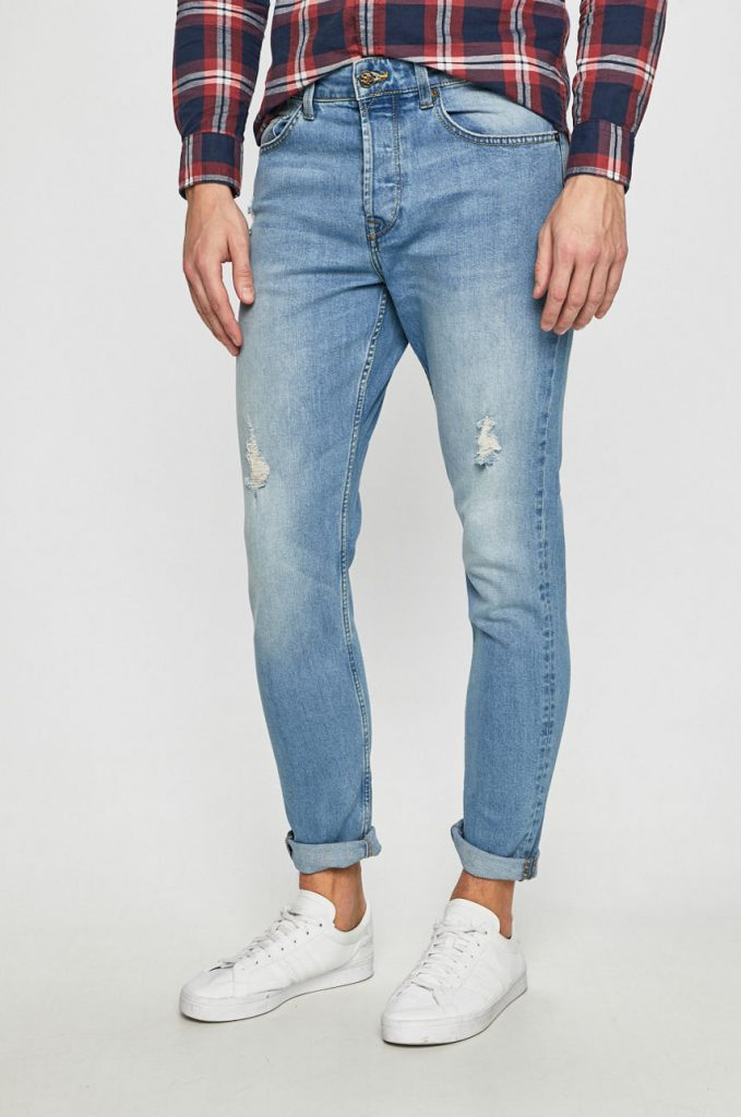 Only & Sons - Jeansi Avi Damage Blue