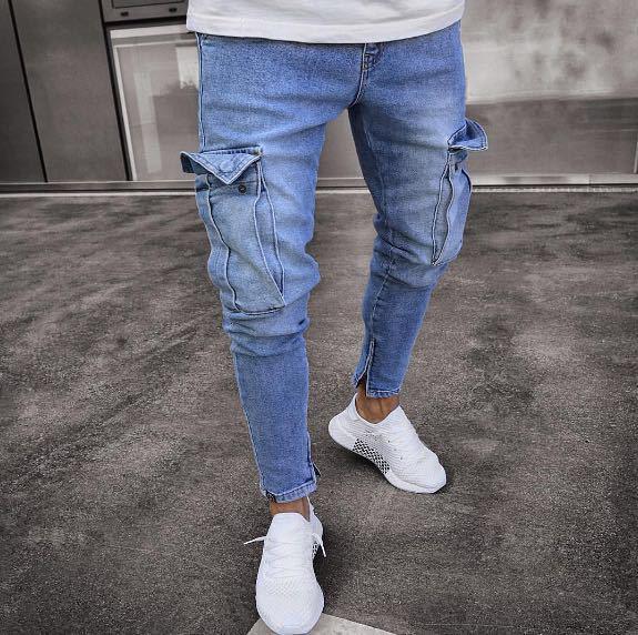 Pantaloni lungi tip jeans