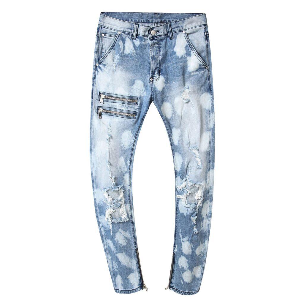 Pantaloni stil blugi pentru barbati